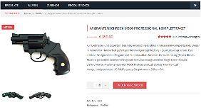 "Screenshot aus dem Online-Shop: ""Migrantenschreck Komplettpaket"""