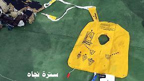 Rauchalarm vor Absturz von Flug MS804: Erste Bilder von Wrackteilen veröffentlicht