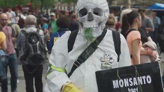 Proteste gegen Glyphosat-Hersteller: Bayer bietet 62 Milliarden Dollar für Monsanto