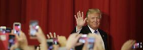 Clinton fällt in Umfragen zurück: Die Realität richtet sich nach Trump