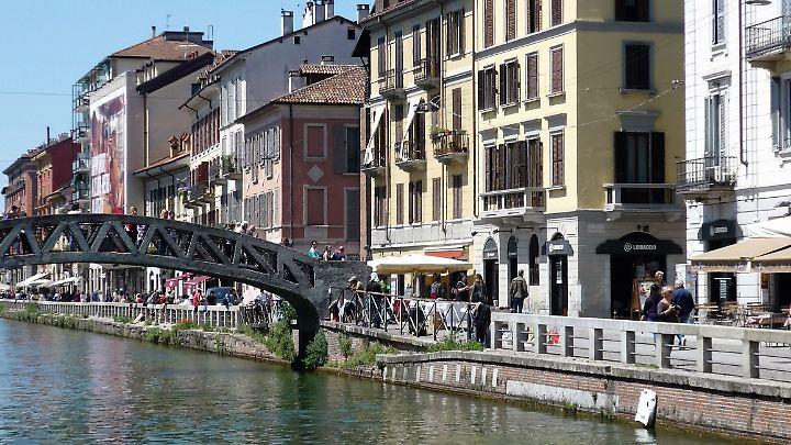 Das Navigli-Viertel ist eine willkommene Abwechslung zur Innenstadt.