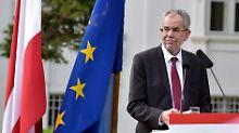 """Van der Bellen siegt über die FPÖ: """"Halb Österreich atmet auf"""""""