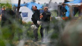 Umsiedlung der Flüchtlinge: Räumung des Lagers in Idomeni beginnt