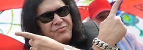 """Gene Simmons, der Trump von Kiss: """"Ich brauche keine künstliche Hüfte"""""""