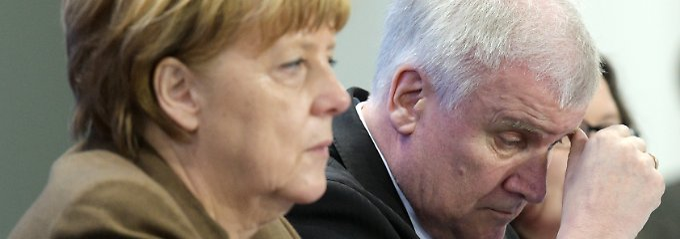 Verbindet zurzeit ein wenig schwesterliches Verhältnis: Kanzlerin und CDU-Chefin Merkel und CSU-Chef Seehofer.