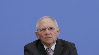 Erfolgreich oder nicht?: Schäuble hatte Glück