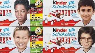 Kinderbilder deutscher Nationalspieler: EM-Edition der Kinderschokolade sorgt für Entrüstung bei Pegida