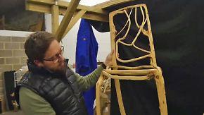 Selbstwachsende Möbel: Britischer Designer pflanzt Stühle und Lampen an