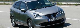 An der Schwelle zum Kompaktsegment sucht der Suzuki Baleno neue Kunden.