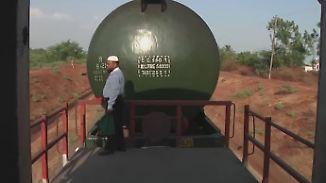 """Extreme Dürre in Indien: Unterwegs mit dem """"Boten des Wassers"""""""