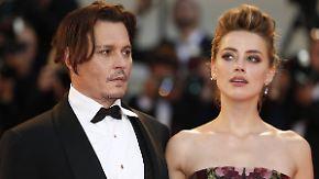 Promi-News des Tages: Amber Heard reicht Scheidung von Johnny Depp ein