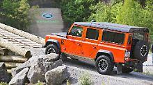 Der Land Rover Defender geht in Rente. Doch bevor es so weit ist, wird gefeiert..