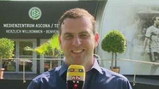 """Monien vom DFB-Trainingslager in Ascona: """"Es wird ein bisschen unruhig in den nächsten Tagen hier"""""""