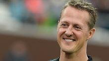 Michael Schumacher konnte die Auszeichnung für sein Lebenswerk nicht selbst in Empfang nehmen.
