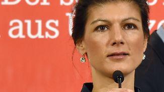 """Sahra Wagenknecht im Interview: """"Das ist einfach perfide"""""""
