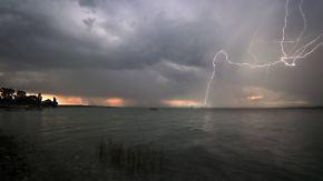 Unwetter- und Hochwassergefahr: Hier kracht es in den nächsten Stunden