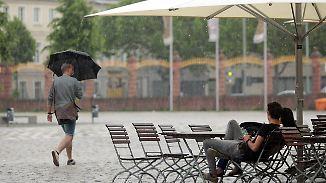 Sinkendes Unwetterpotenzial: Mai verabschiedet sich mit Schauern und Gewittern