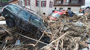 """""""Naturkatastrophe"""" in Baden-Württemberg: Unwetter hinterlassen Schneise der Verwüstung"""