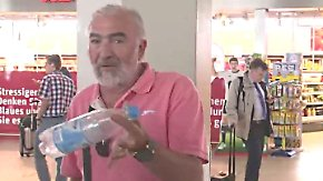 Großalarm am Flughafen Köln/Bonn: Spanier leistet sich die vielleicht teuerste Wasserflasche der Welt
