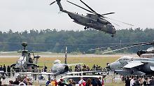 CH-53-Hubschrauber der Bundeswehr in Aktion.