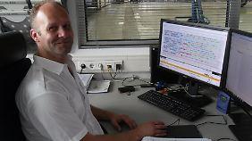 Matthias Geier hat den Überblick über die Condor-Airbusse.