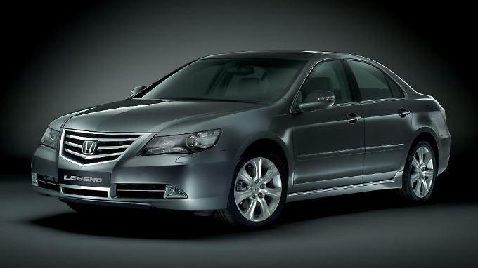 Sportlich und seit 25 Jahren komplett ausgestattet: der Honda Legend.