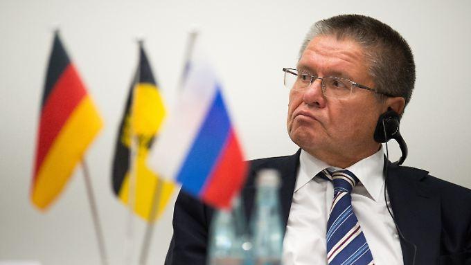 Der russische Wirtschaftsminister Alexej Uljukajew.