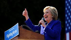Sanders will Kampfabstimmung: Clinton hat genug Delegiertenstimmen beisammen