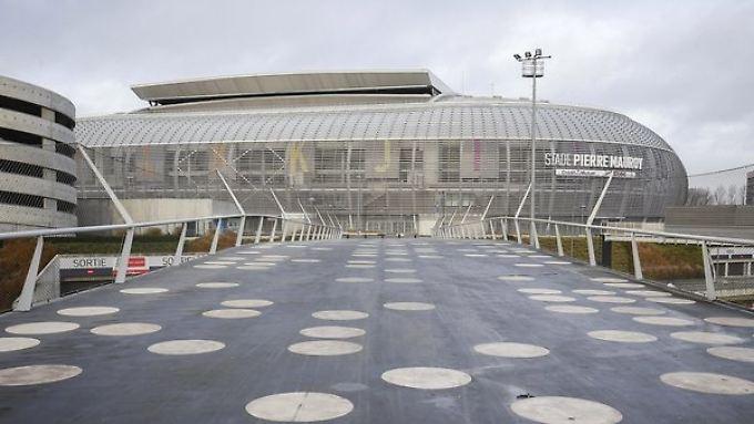 Die EM-Stadien im Porträt: Stade Pierre-Mauroy in Lille