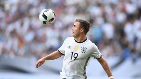 Die DFB-Spieler im Porträt: Mario Götze, Sturm