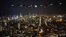 """""""Es ist unglaublich"""": """"Solar Impulse 2"""" landet in New York"""