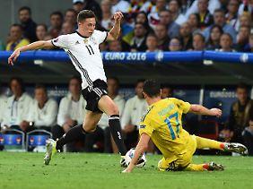 Nach 78 Minuten war Schluss für den Ex-Schalker.