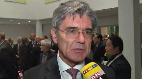 """Siemens-Chef Kaeser zur Kuka-Offerte: """"Die Globalisierung ist eben nicht nur in eine Richtung"""""""