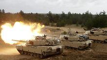 Kurz vor Trumps Amtsantritt: Balten schließen Militärabkommen mit USA