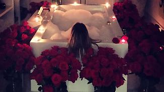 Promi-News des Tages: Heidi Klum schwelgt im Liebesglück