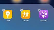 Das war längst überfällig: iOS 10 erlaubt Löschen von Apple-Apps