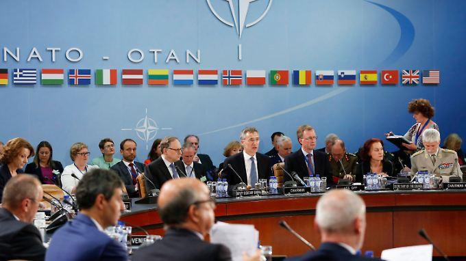 Bis zum Nato-Gipfel im Juli soll die militärische Planung vorangetrieben werden.