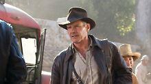 """Indiana Jones (Harrison Ford) in einer Szene aus """"Indiana Jones und das Königreich des Kristallschädels"""""""