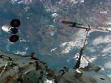 """Größtes gelegtes Feuer im All: Raumkapsel """"Cygnus"""" in Brand gesetzt"""