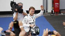 Niko Rosberg verlebt ein erfolgreiches Wochenende in Aserbaidschan.