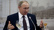 Lob für USA, Angebote an EU: Putin überrascht in St. Petersburg