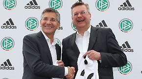 Nach langem Feilschen: Adidas bleibt Ausrüster der deutschen Fußball-Nationalelf
