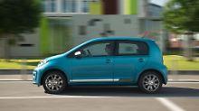 Wer genau hinsieht, könnte am neuen VW Up erkennen, dass die Stoßfänger bulliger geworden sind.