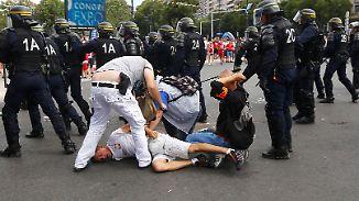 Vor EM-Spiel Polen gegen Ukraine: In Marseille kommt es erneut zu Ausschreitungen