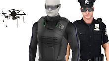 Mit Drohne und AR-Brille: So soll die Polizei der Zukunft arbeiten