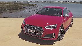 Federleicht und dennoch mit Wumms: Im neuen Audi S5 Coupé flitzt es sich noch luxuriöser