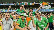 """""""Come on you boys in green"""": Irische Feierbiester sind die Lieblinge der EM"""