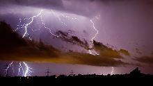 Globale Blitz-Hotspots: In einem See kracht es fast täglich