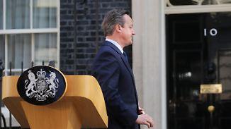 EU nur instrumentalisiert: Camerons Schlingerkurs mündet im Brexit