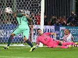 Favoritensturz im EM-Achtelfinale: Portugal schockt Kroatien spät